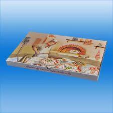 SCATOLA PIZZA 34 X 56 MEZZOMETRO PIZZA BOX SUPER RESISTENTI 100 PZ