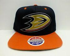 MIGHTY DUCKS Snapback Hat NHL Hockey Retro Vintage Cap One size By Zephyr NEW