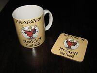 The Saga of Noggin the Nog Mug Coaster Gift Set Mix n Match