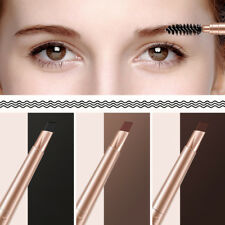 1pc Brown Eye Brow Pen Eyebrow Pencil With Brush Cosmetic Makeup
