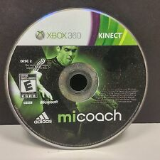 Mi Coach by adidas Xbox 360 Video Game DISC ONLY #9596