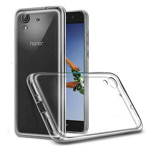 "Housse Etui Coque Gel UltraSlim Silicone pour Huawei Honor 5A/ Huawei Y6 II 5.5"""