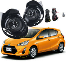 For Toyota PRIUS C / AQUA 2015 ~ 2017 Car Bumper Fog Lights Complete Kit /1Set