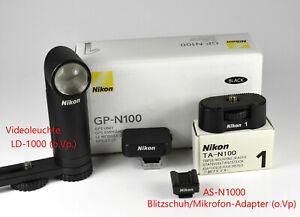 Nikon 1 Zubehör-Set (4 Artikel) bitte lesen