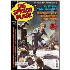 Die Sprechblase 233 Comic Zeitung Batman TV-Serie 1966 TRIGAN pralle 100 Seiten