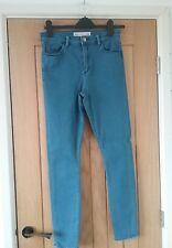 Denim jeans. Blue. Waist 28ins. Inside leg 32ins. ASOS. Skinny. Stretch fabric