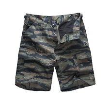 Mens Army Combat Casual Fashion Camo Work Outdoor Cargo Shorts