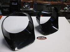 1978 1979 1980 1981 CAMARO Z-28 NEW PAIR OF BLACK HEADLAMP HEAD LIGHT BEZELS