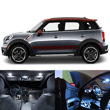 LED White Lights Interior Package Kit For Mini Cooper Countryman R60 (17pc)