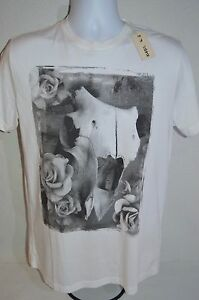 DIESEL Man's T-GISO Cow Skull Crew Neck T-shirt   NEW  Size XX-Large  Retail $78