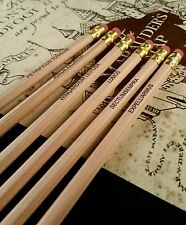Harry Potter Inspired HB Pencils Set Of 6 Spells Printed Gifts