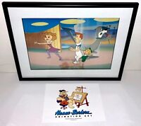 hanna barbera the jetsons 1980's original production cel rare animation art cell