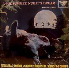 FELIX MENDELSSOHN  A MIDSUMMER NIGHT's DREAM  PETER MAAG LSO 180G