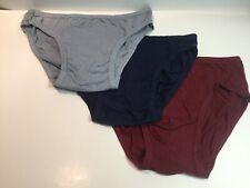 Jockey Life, 3-Pack/ of Men's 100% Cotton Bikini Briefs X-Large 40-42 Inch