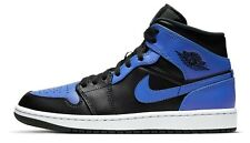 Air Jordan 1 Hyper Royal Retro Medio Negro Azul 554724-077