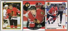 JEREMY ROENICK RC Lot - 1990-91 Bowman, Pro Set, Score - NM/MT - Blackhawks