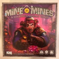 Mine All Mines (A Dwarven Minning Game) Board Game Adamescu/Andrews- IDW Games