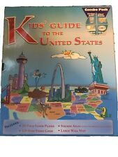 Kids' Guide to the United States 4-Activity Combo Pack