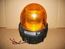 Large Federal Signal Commander Amber Strobe Light 371st 250 250vdc Lot X 3