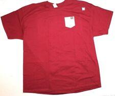 NCAA Florida Seminoles Faux Pocket Short Sleeve T Shirt Red Size 2XL XXL New NWT