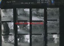 """Sam Peckinpah The Cross Of Iron Original 10x12"""" Contact Sheet Photo #M6799"""