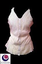 Waist Length Cotton Textured Sleeve Tops & Shirts for Women