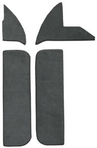 1974 Dodge D100 Pickup Door & Kick Panel Carpet  Inserts w/ Cardboard