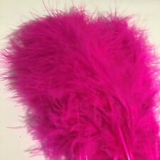 HENDS HOT PINK MARABOU PLUMES FLY TYING