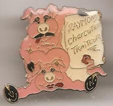 Pin's pin RARE HUMOUR EROTIC PIG COUPLE COCHON KAMASUTRA ( ref CL21)