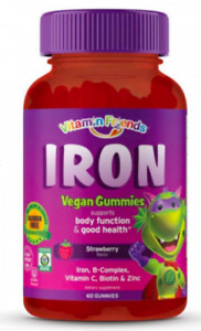 Vitamin Friends - Iron Vegan Gummies