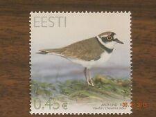 Estonia 2012 Bird of the Year - Plover MNH