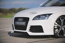 Rieger Spoilerstoßstange Schürze Spoiler für Audi TT 8J / NEU / RIEGER-Tuning