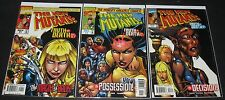 New Mutants: Truth Or Death 1, 2 & 3 - Complete Set (1997, Marvel) 1st Print