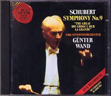 Günter WAND: SCHUBERT Symphony No.9 die Große Live 1992 RCA CD Gunter Sinfonie
