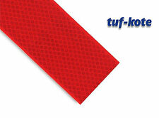 High Intensity Reflective Conspicuity Tape, Red, 2 inch thick x 5 meter Length