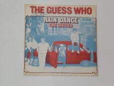 "THE GUESS WHO -Rain Dance- 7"""