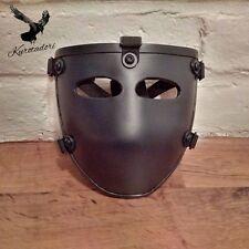New Bulletproof Ballistic Face mask NIJ IIIA protective Black body armor