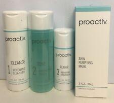 Proactiv 60 Day 4 Piece Kit Proactive 3-Step System  NO AUTO RESHIP