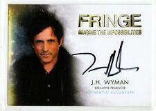 Fringe Season 1-2 Autograph card J.H. Wyman/executive producer auto a15