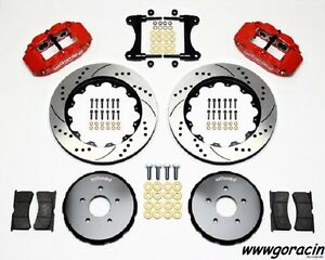 "Wilwood Superlite 6R Front Big Brake Kit Fits 2003-2009 Nissan 350Z, 13"" Rotors"