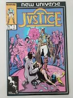 JUSTICE #1-4 (1986) MARVEL COMICS NEW UNIVERSE! ARCHIE GOODWIN! 1ST APPEARANCE!