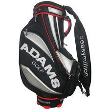 "Adams Golf Men's 9"" Tour Staff Bag,  Black/Silver"