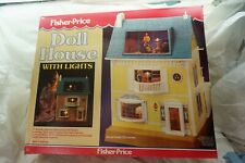 VINTAGE FISHER PRICE DOLLHOUSE 1983 280 LIGHTED VICTORIAN NEW SEALED DOLL HOUSE