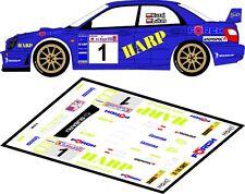 DECALS 1/43 SUBARU IMPREZA WRC - #1 - KUZAJ - RALLYE ELMOT 2003 - D43096