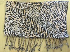 Polyester Animal Print Pashmina Scarves & Shawls for Women
