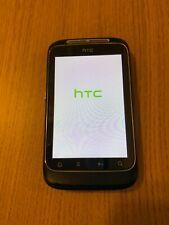 HTC Wildfire S black unlocked USED - read description