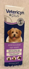 Vetericyn Plus Antimicrobial Eye Wash 3 fl oz (Dogs,Cats, Horses +) EXP. 08/2022