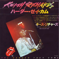 "Keith Richards, The Harder They Come, NEW/RARE Japanese import 7"" vinyl single"