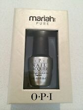OPI Mariah PURE 18k White Gold & Silver Top Coat , New In Box