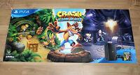 Crash Bandicoot N. Sane Trilogy Rare Promo Poster Playstation 4 PS4 120x55cm